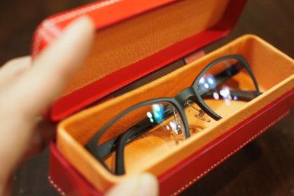 箱型メガネケース
